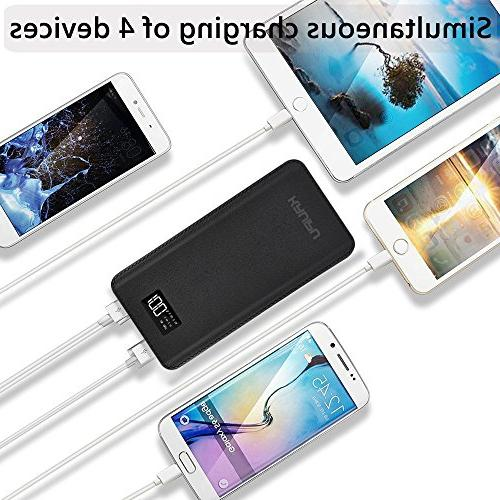 Power Bank Portable Charger Battery Pack OutPut Ports Backup Phone Almost Phone