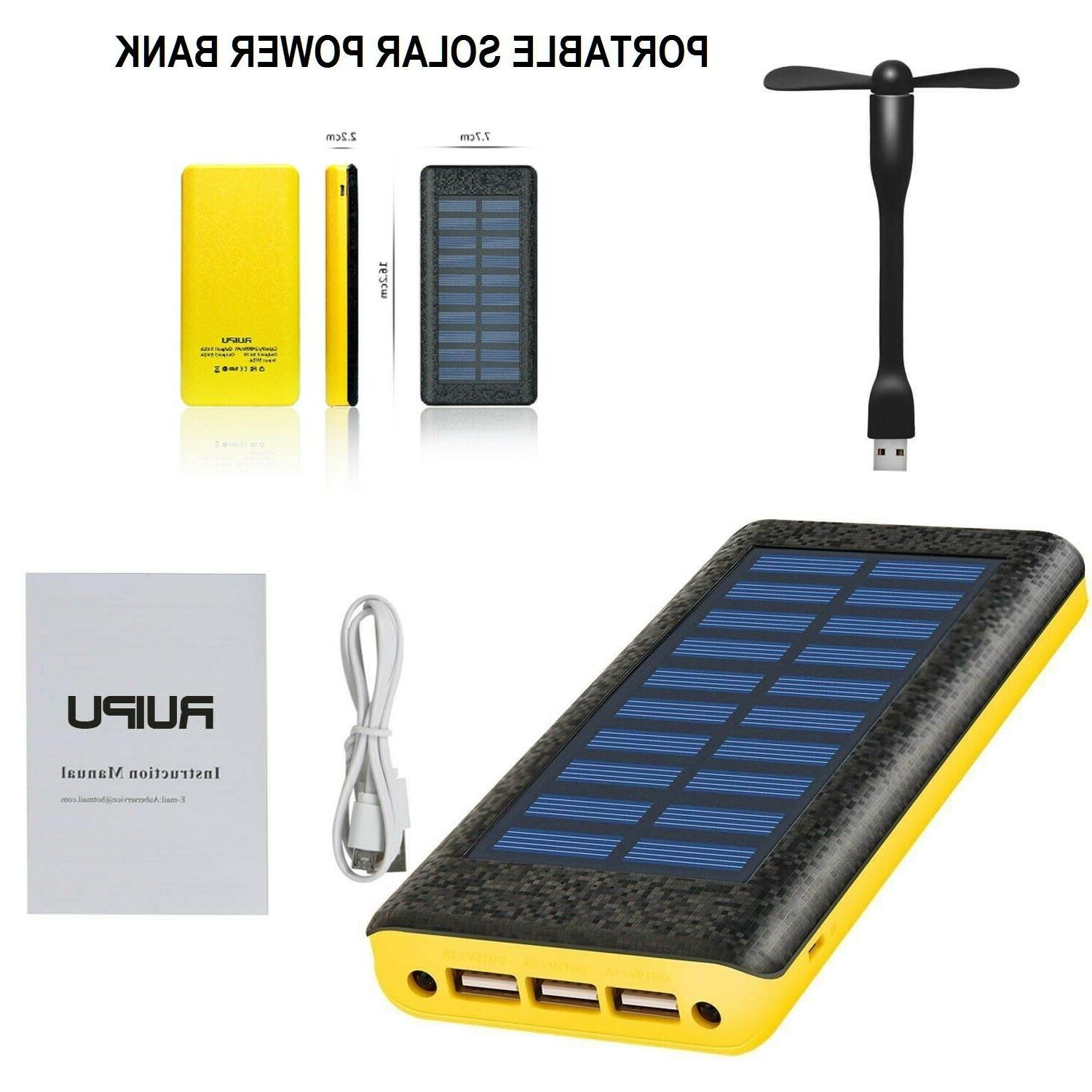 power bank portable charger dual