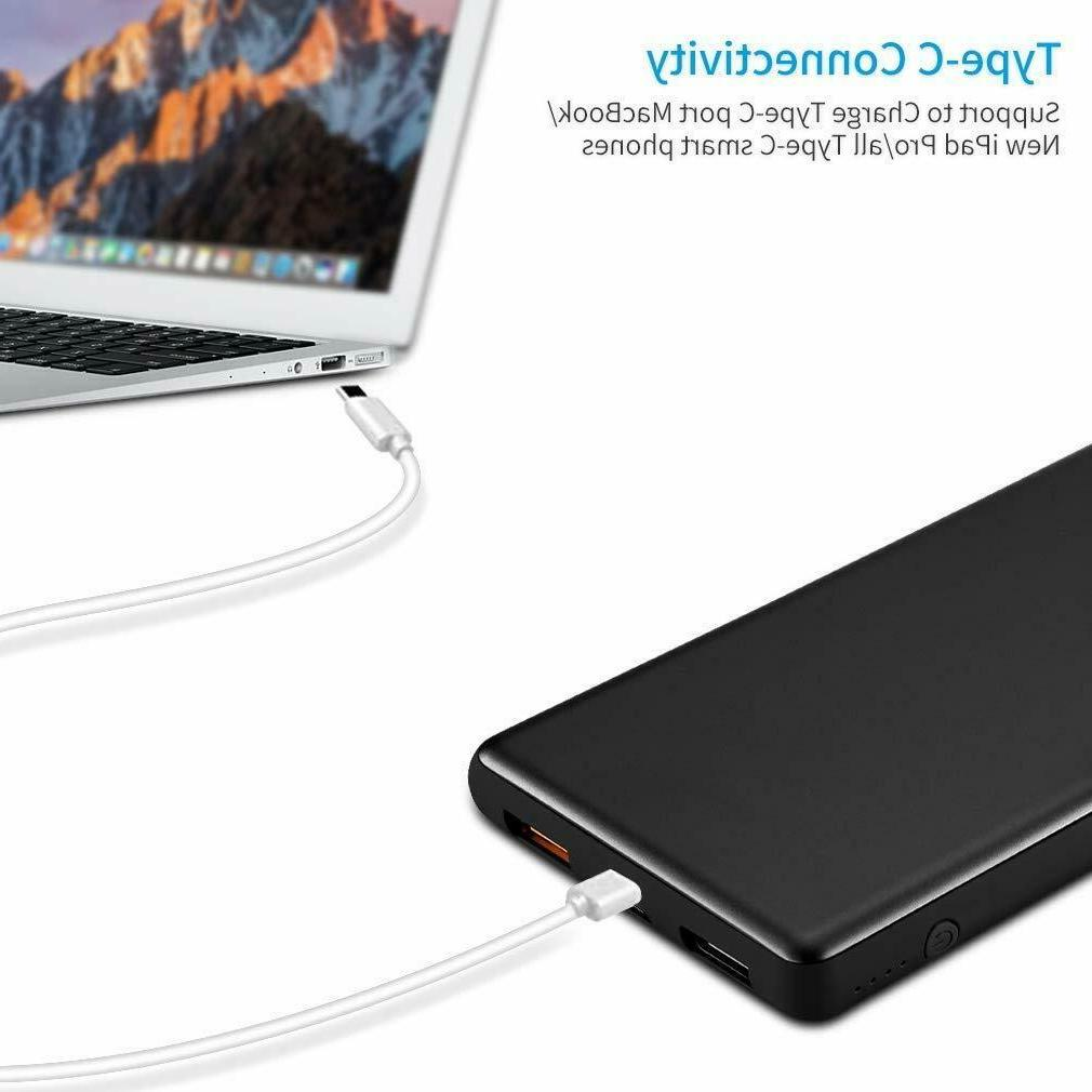 Power Bank Quick Charge 3.0, 10000mAh---2x Packs