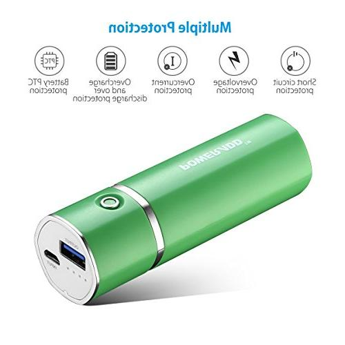 Poweradd Slim Portable Charger 5000mAh for iPhone, Galaxy and More