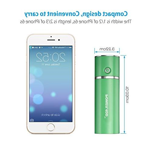 Poweradd Slim 2 Portable Charger 5000mAh Stick Smart for iPhone, Samsung Galaxy and Green