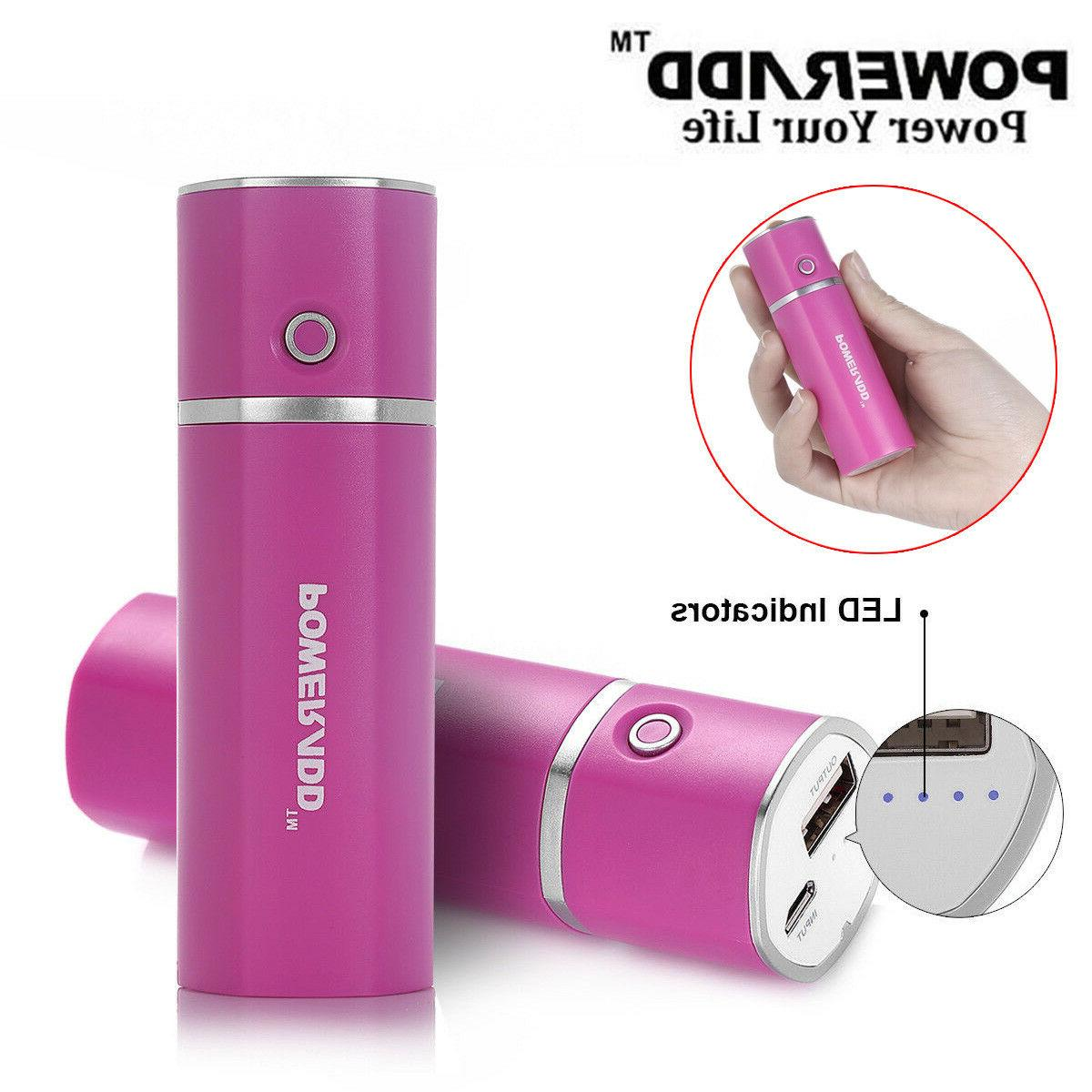 Poweradd Slim2 5000mAh Portable Charger Power Bank with Auto
