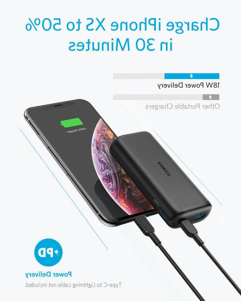 Anker 10000mAh Portable Charger Delivery 18W PIQ2.0
