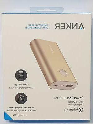 powercore 10050 portable charger with qualcomm quick