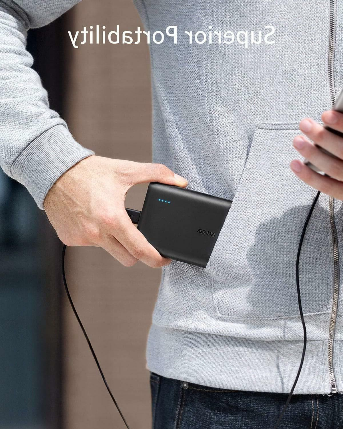 Anker PowerCore 13000 Portable Charger Compact 13000mAh 2-Po