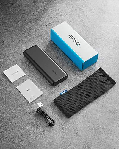 Anker PowerCore - Ultra Capacity Power Bank with Output, PowerIQ for iPad and Samsung and More