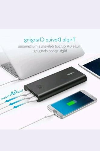Anker PowerCore+ 26800 Portable Charger Capacity 26800mAh External Power