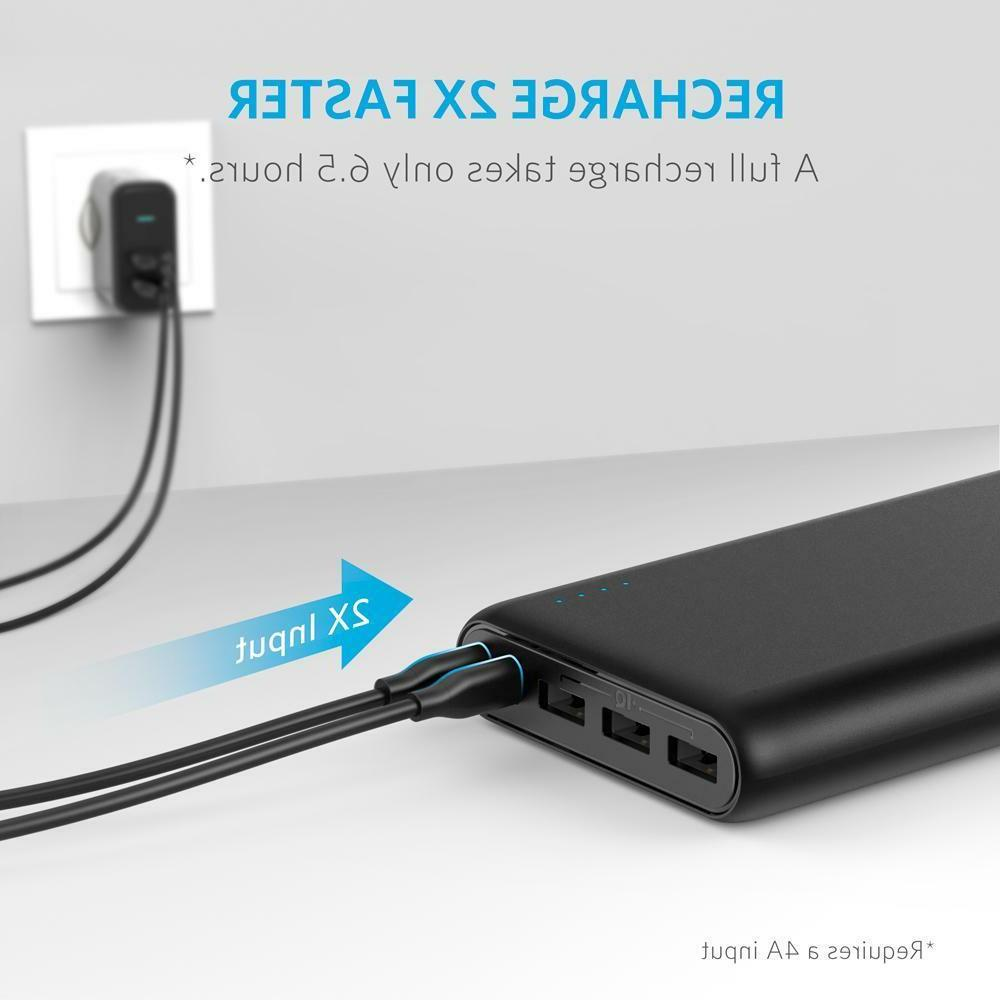 Portable Charger 3-Port Battery for