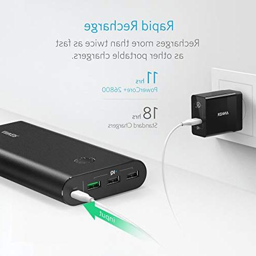 Anker Portable Charger, Qualcomm , Wall Charger