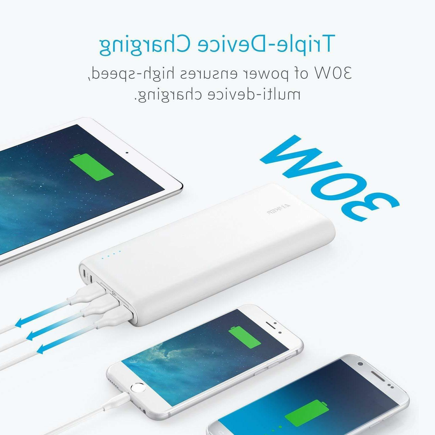 Anker PowerCore 26800mAh PORTABLE CHARGER / POWER 3-USB FAST