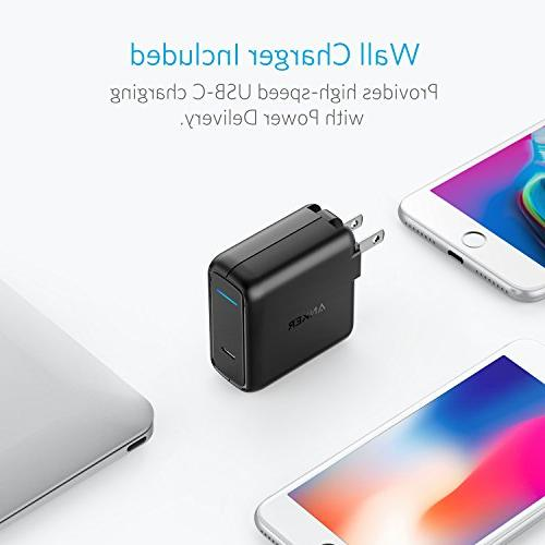 Anker PowerCore PD, Wall Bundle, Type C Power Bank MacBook Pro 2018, Nexus / iPhone MacBooks