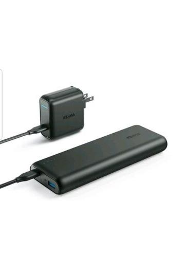 powercore speed 20000pd black combo portable charger
