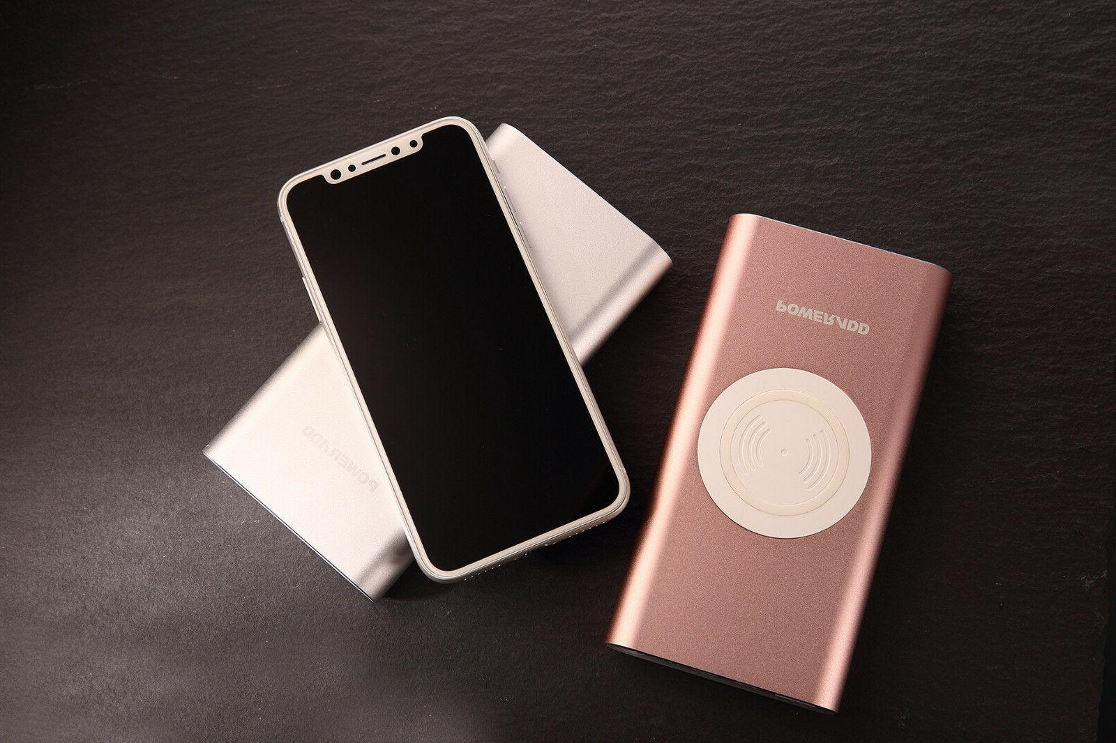POWERADD Power Bank 10000mAh Charger For X 8 8 Plus