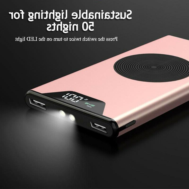 2 Charging Portable Battery