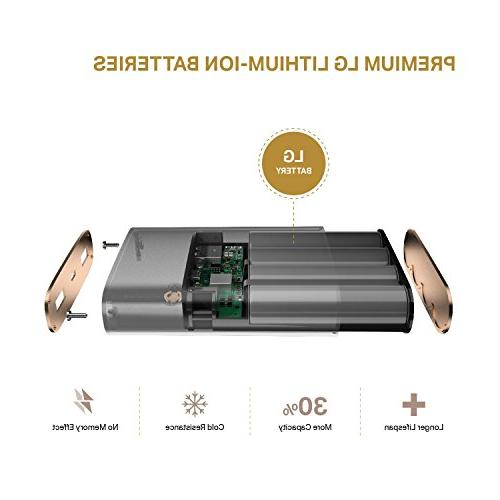 13400mAh Certified Charge 3.0 Charging, Universal Charger iPhone,