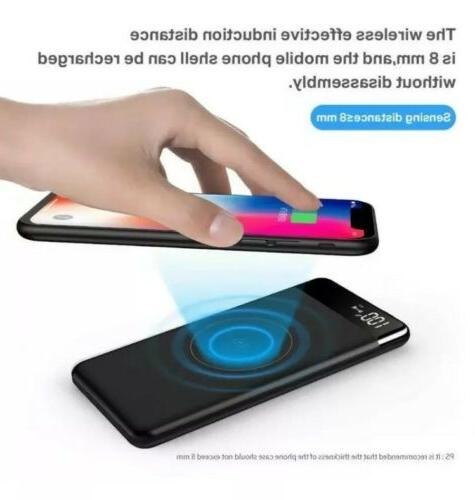 Sanag Wireless Portable Wireless Charger Built In Ca