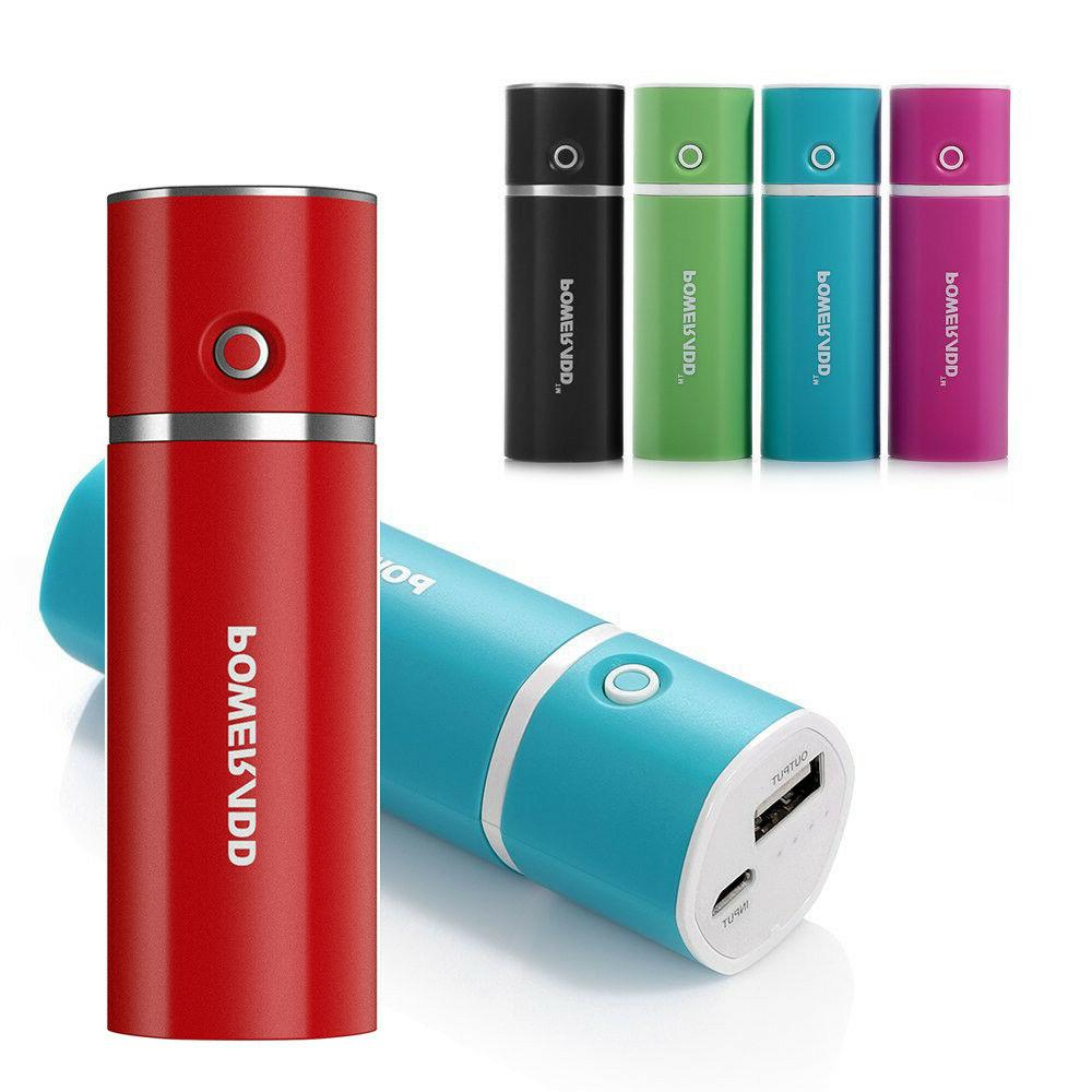 slim2 5000mah power bank usb external moblie