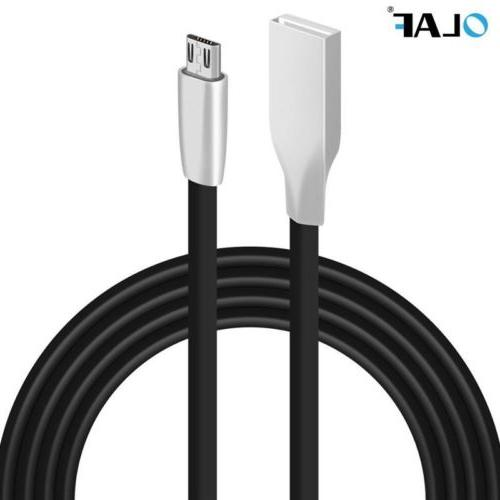 Smooth Portable Micro USB Fast Charger Flat Data Sync Cable