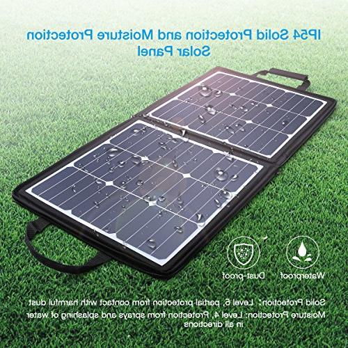 18V 12V SUNPOWER Panel for X iPad Pro, MacBook,