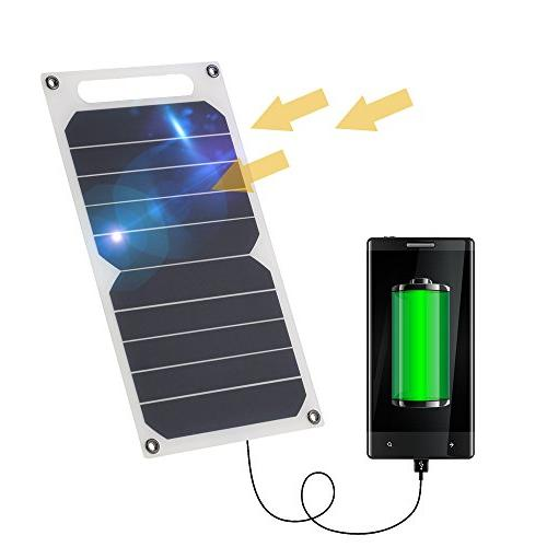 solar panel charger usb ports
