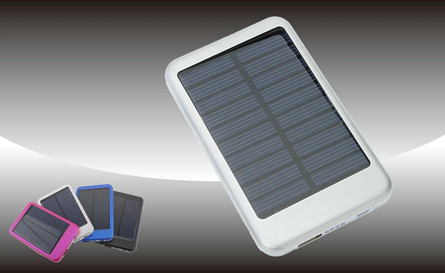 ZAZZ Solar Powerbank Portable Pack, NEW