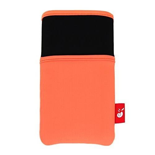 Hermitshell Slim Protective Soft Sleeve Compact Portable Power Size: 2nd Astro E7 Orange