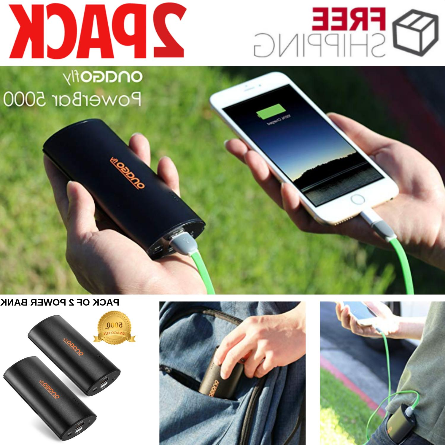 Ultra Compact Portable Charger With High Speed Charging 5000