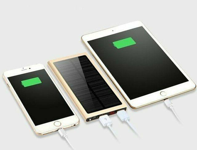 Ultra Thin Portable Charger Bank