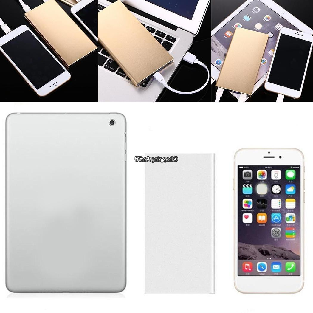 Ultra-thin 20000mAh Portable Battery Power for Cell Phone