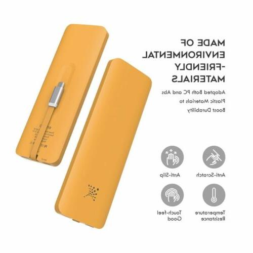 Ultra Thin Portable External Charger Power Bank