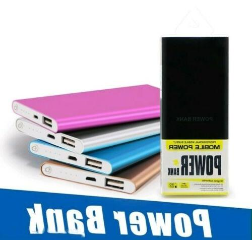 ultra thin lightning speed portable charger 20000mah