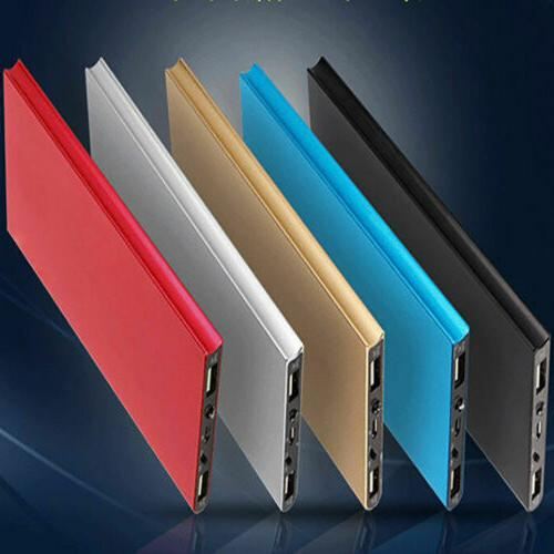 ultrathin 50000mah portable external battery charger power