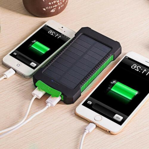 Dual USB Power External Battery Charger Phone