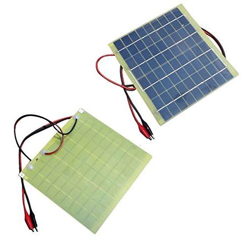 TOOGOO Universal 5W 18V Solar Cells Battery Charger Phone Power