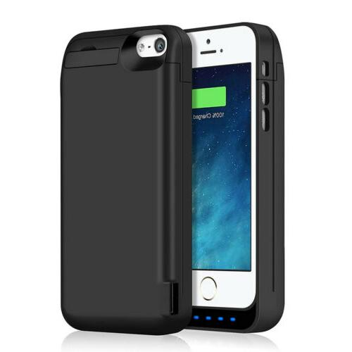 upgraded 4800mah portable charger case power bank