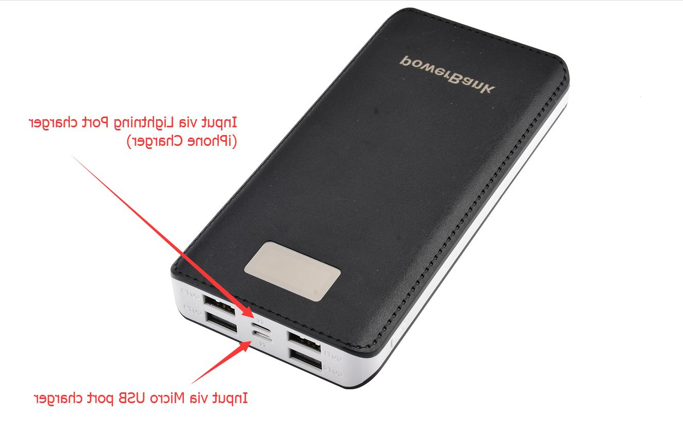 USA Portable Bank LCD USB For Mobile Phone