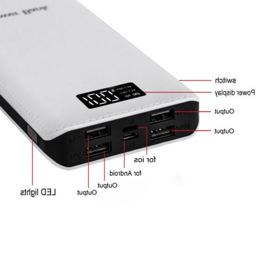 USA Bank LED USB Battery Charger For Mobile