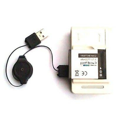 usb battery charger dock power adapter hd