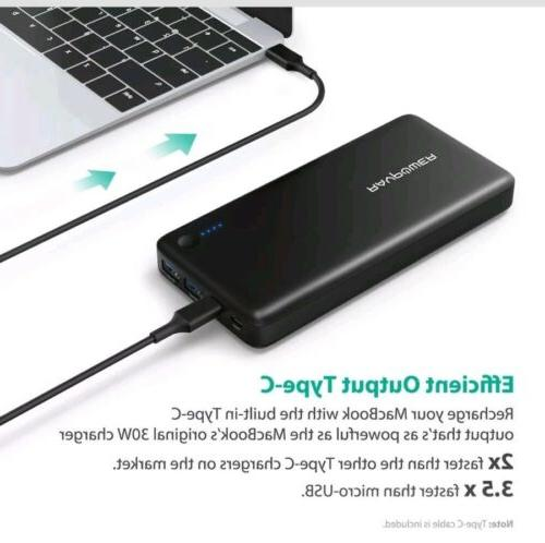 USB C Hubs Charger 20100mAh Type iSmart Data USB C