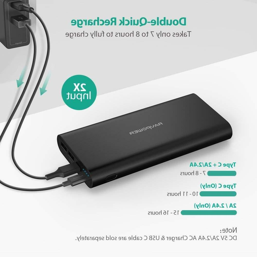 USB C Portable Charger Power 26800mAh External Battery Pack