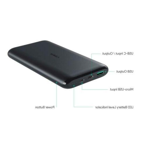 AUKEY USB C Bank, Dual-Output Battery Pack...
