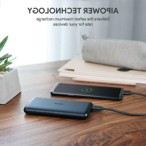 AUKEY USB C Bank, Charger, Dual-Output Battery