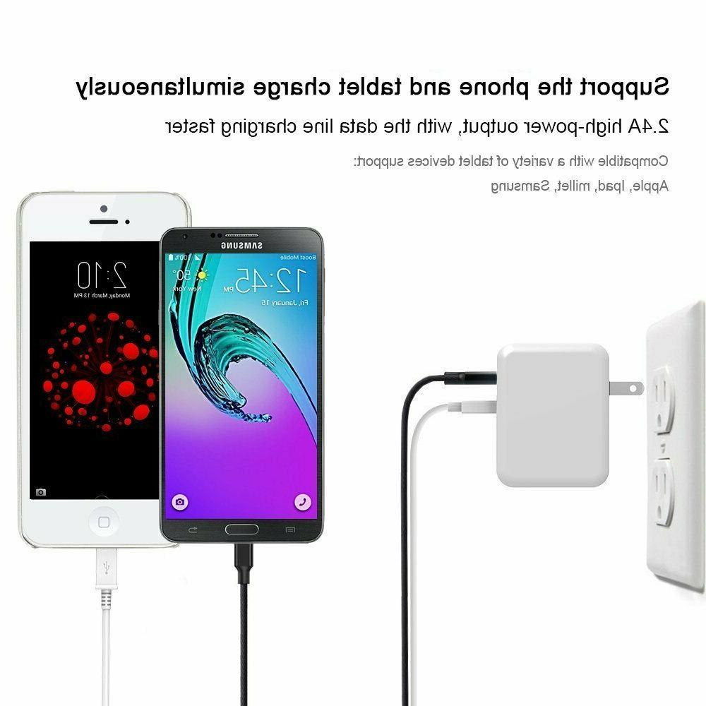 ONSON Charger,4.8A Dual USB Wall