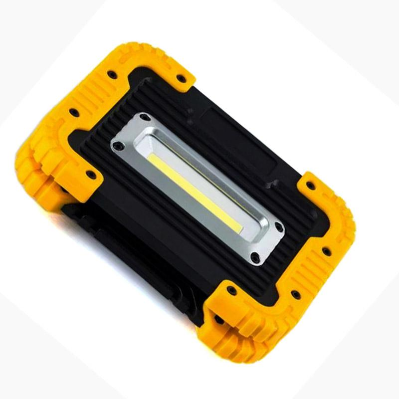 USB lantern LED lamp Work Light cob <font><b>Charger</b></font> Rechargeable Camping Spotlight flashlight