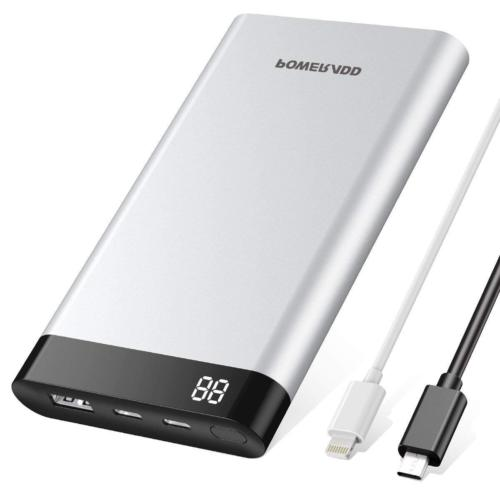Poweradd Virgo II 10000mAh Power Bank USB-C Input & Output 5