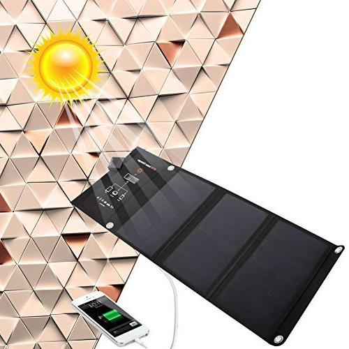 waterproof bag foldable solar panel