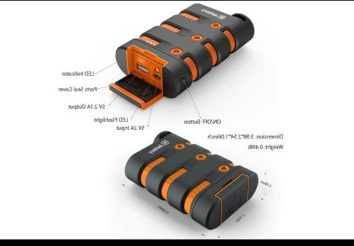 Waterproof Jackery Power Bank 9000mAh External