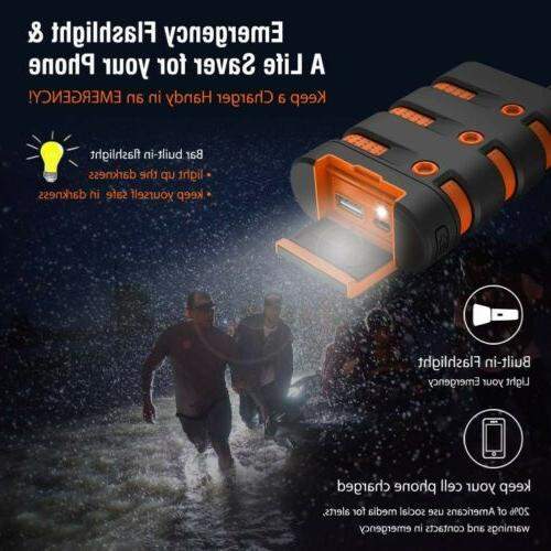 Waterproof Charger Armor Power 2DAYSSHIP