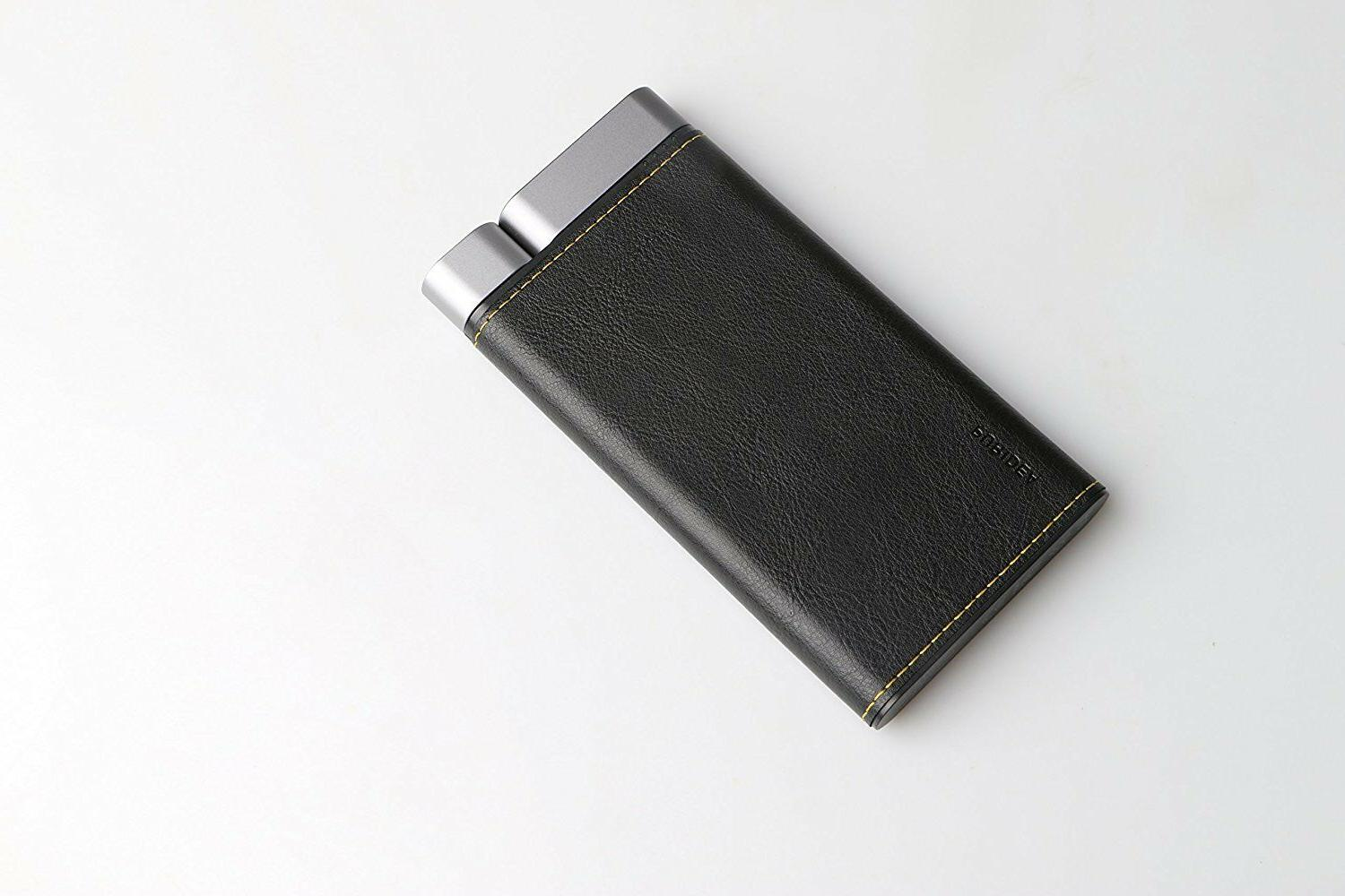 Puridea X01 mAh Leather Dual Charger Battery