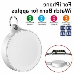 Magnetic Wireless USB Charger Portable Keychain For Apple Wa